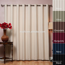 New curtains style for 2016 Thermal Insulated Blackout Curtains - wide pocket rod