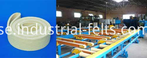 Kevlar Endless Conveyor Belt For Aluminium Profile