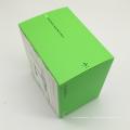 design personalizado cartão colorido caixa de presente eletrônica