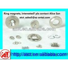 Super Ring Magneten, großer Ring-Magnete, Neodym-Magnete, Zylinder-Neodym-Magneten