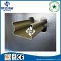 Металлический оцинкованный стальной профиль канала U / Steel Track