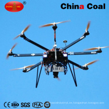 Rociador de helicóptero para protección de plantas no tripulados con múltiples rotores