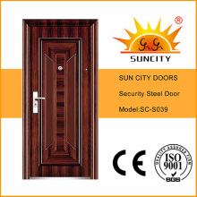 Top Quality Economic Single Steel Doors (SC-S039)
