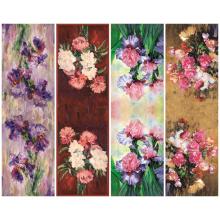 Neueste 2017 Blume gedruckt Schal Mode (C-035)
