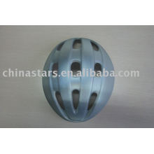 grey reflective safety cyclist helmet for safety