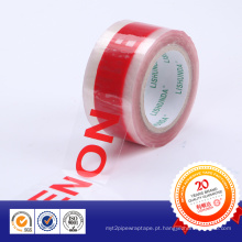 Fita de embalagem impressa com logotipo de design personalizado BOPP