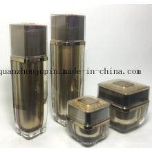 Grupo cosmético de alta qualidade da garrafa de perfume da loção de creme do frasco do OEM