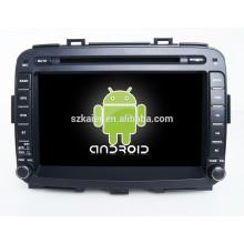 Glonass / GPS Android 4.4 Spiegel-Link TPMS DVR Auto zentrale Multimedia für KIA Carens mit GPS / BT / TV / 3G
