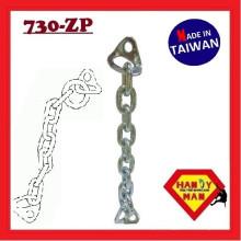 Ensemble de chaînes d'ancrage escalade 730-ZP anneau de chaîne en acier inoxydable en acier inoxydable