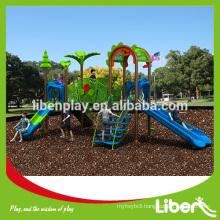 High Quality Plastic Amusement Park for Outdoor Playground LE.ZI.006