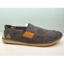 Neueste Frauen / Männer Beleg auf beiläufige Segeltuch-Schuhe