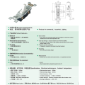 YGD-001 UL certificate different types PC CU material modular switches