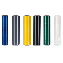 Colored pe Plastic wrap stretch film for pallet packing