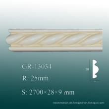 Ökonomische Klassische PU Dekorative Form / Home Polyurethan Baseboard Molding