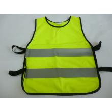 100%Polyester Knitting Fabric Safety Vest
