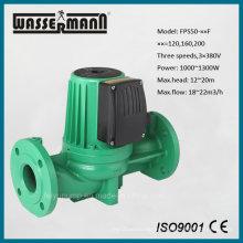 DN50, 3 fases, 3 velocidades, bomba de circulación de agua caliente