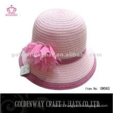 Korean Fashion Paper decorative Bowler Hat