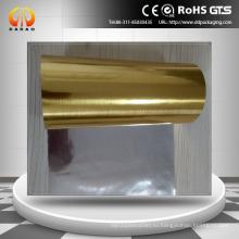 ПЭТ-пленка из серебристого золота