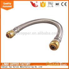 Aço inoxidável flexível / alta pressão flexível / água quente flexível mangueira Aço inoxidável flexível / alta pressão flexível / água quente flexível mangueira