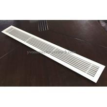 Sistemas HVAC Suministro de ventilación Rejilla lineal de aluminio