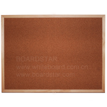 Natural Wood Framed Cork Board (BSCCO-W)