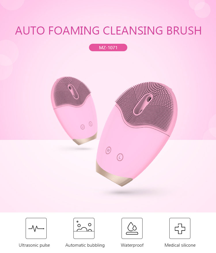 facial cleanser brush