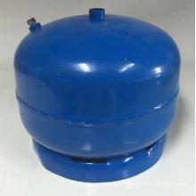 Cylindre de gaz LPG et réservoir de gaz en acier (as-2kg)