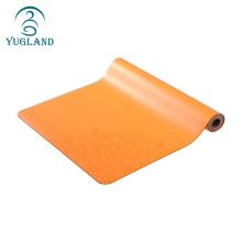 yugland new hot sale custom no slip thick eco friendly natural rubber yogo mat, yoga mat printed