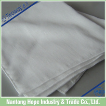 100% organic cotton single layer double gauze lattice handkerchief