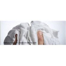 Algodón blanco de alta calidad limpiar trapos
