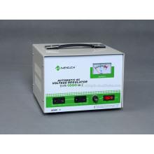 Type de relais type monophasé SVR-1k personnalisé Régulateur / stabilisateur de tension CA entièrement automatique