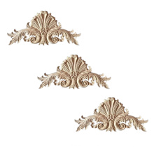 Modern style solid wood Decorative Wood Applique