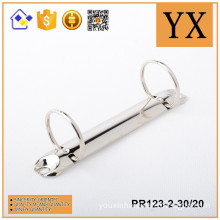 Manufacturer China 2 holes nickel plate ring binder clip for paper folder