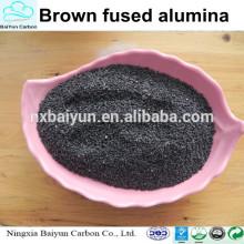 Fabricant vente brun fondu d'oxyde d'aluminium prix