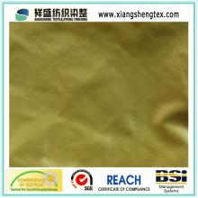 Tissu de pongee de polyester extra-doux pour vêtement