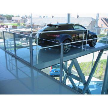 Scissor car lift table