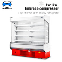 Commercial supermarket showcase refrigerator price