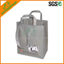 promotional non woven bottle holder shop bag