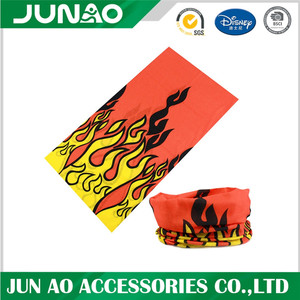 Bandana mask with custom artwork