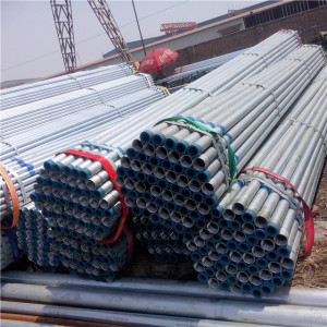 30-120g/m2 Pre Galvanized Pipe With NPT Thread