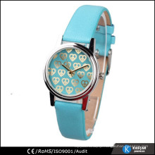 leather fashion watches lady, japan movt quartz watch manufacturers
