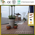 2015 best selling wood and plastic Wholesale seaside waterproof interlocking eco decking tiles