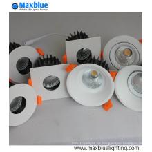 CRI90 + CREE COB Triac / 0-10V / Dali Dimmbare LED COB Downlight