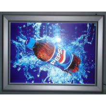 Thin Lightbox con pantalla LED a todo color como cartelera LED