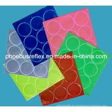 2cm Durchmesser Reflektierende Aufkleber / Aufkleber En13356