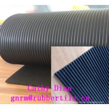 on Sale High Quality Rib Rubber Sheet, Natural Rubber Roll, Rubber Sheet Roll Acid Resistant Rubber Sheet