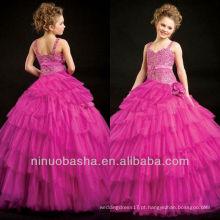Fushia Tank Strap Girl Dress