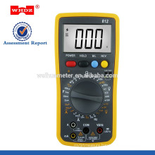WH812 digital multimeter, mistakenly entered reminder