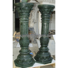 Decorative Roman Column with Stone Marble Granite Sandstone (QCM134)