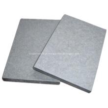 Placa de cimento de fibra exterior à prova de fogo de alta resistência